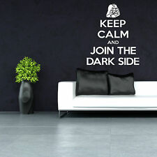 Keep Calm And Join The LATO OSCURO GUERRE STELLARI DARTH VADER