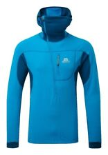 Mountain Equipment Eclipse Capucha Zip Tee , Sudadera Con para hombre, Lagoon