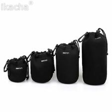 S M L XL Matin Neoprene Soft Protector Camera Lens Pouch Bag Case For Canon Niko