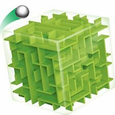 Abbyfrank 3D Maze Magic Cube Puzzle Speed Cube Puzzle Game Labyrinth Ball Toys C