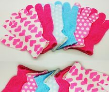 Bath and Shower Exfoliating Body Massage Scrub Pair Glove - New