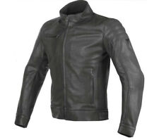 Giacca moto uomo pelle Dainese Bryan nero black leather jacket