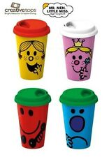 Creative Tops Mr Men O Little Miss Ermetica Tazza da viaggio GRUMPY resistente