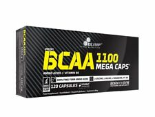 OLIMP BCAA 1100 Mega Caps Amino Acid Leucine Vit B6 Pre Workout Energy