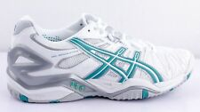 Asics Gel-resolution 5 White Aqua Zapatillas de tenis calzado deportivo
