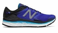 New Balance Fresh Foam 1080v8 Mens Running Shoes - Black/Blue (2E)