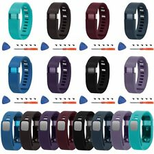 Silicone Sport Watch Strap Wristband Bracelet + Tool For Fitbit Charge Tracker