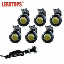 6pcs Eagle Eye Light 18/23MM LED DRL Daytime Running Lights For Car Work Light W
