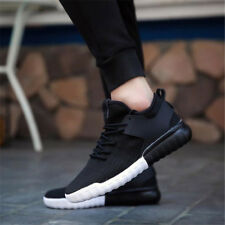 Men's Trainers Running Breathable Shoes Sports Casual Sneakers Athletic Red