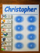 To Do List Chore Chart! Complete with 10 illustrated moveable chores. Customize!