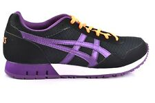 Asics Womens Girls Curreo GS Black/Burgandy Trainers - Various Sizes RRP £60