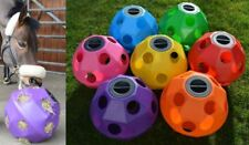 Equine Horse and Pony Hay Ball Treat Feeder, 7 x Colours Available *NEW*