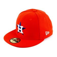 New Era 5950 TSF Houston Astros Antigua Gorra Ajustada Gorra Naranja 93763