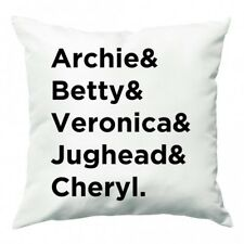 Archie, Betty, Veronica, Jughead and Cheryl - Riverdale Cushion - Fun Cases