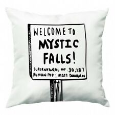 Welcome to Mystic Falls - Vampire Diaries Cushion - Fun Cases