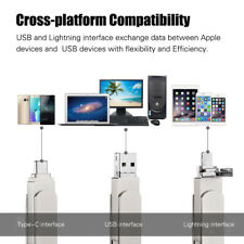 3 In 1 Chiavetta USB 2.0 Otg Bastone Memoria U Disco Per Iphone Samsung Laptop