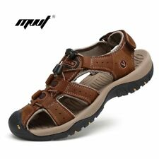 Summer Beach Shoes Casual Shoes Genuine Leather Men Sandals Outdoor Male Men'S S