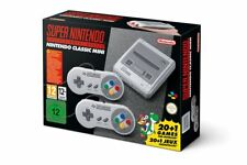 New Nintendo mini SNES Mini WITH 2 CONTROLLERS in hand for rapid postage not nes