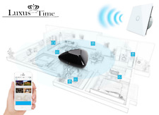 SMARTHOME CRISTAL TOUCH INTERRUPTOR ENCHUFES DE CAMBIO Blanco luxus-time