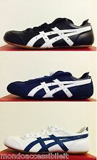 ZAPATOS ASICS TIGER WHIZZER LO HOMBRE MUJER UNISEX D40TJ D40UJ AZUL BLANCO