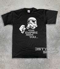 t-shirt homme STORMTROOPER YOUR EMPIRE A BESOIN DE TOI - Star Wars Star Wars
