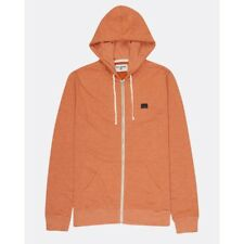 FELPA CON CAPPUCCIO UOMO BILLABONG ALL DAY ZIP HOOD BURNT ORANGE HE