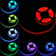Waterproof LED Strip Light 5050 DC12V Flexible Tape Five Colours UK Lighting