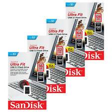 Sandisk 16/32/64/128GB Ultra Fit CZ430 USB 3.1 Flash Stick Pen drive 130MB/s