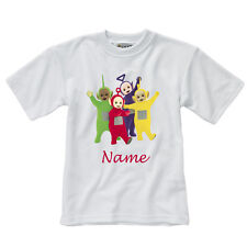 Personalised Children's T-Shirt - Teletubbies - Style 1 - Sizes 1-14 yrs