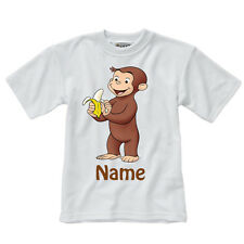 Personalised Children's T-Shirt - Curious George - Style 1 - Sizes 1-14 yrs