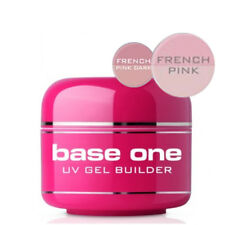 Base One French PINK UV Gel FILE OFF Nail Gel BUILDER 5g 15g 30g 50g Silcare