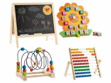playtive Junior Madera Juguete educativo Regla de cálculo Tabla lernuhr