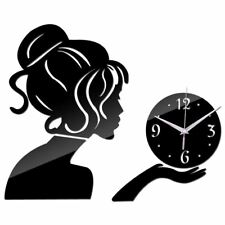 Horloge murale HORLOGES MONTRE DE PARED Montre Horloge Miroir Acrylique Stickers