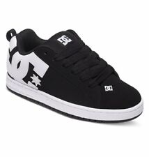 DC shoes skate court graffik NERO 300529 001 uomo taglie UK 8 - 13