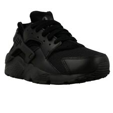 Nike Huarache Run GS 654275016 noir baskets basses
