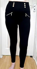 NEW Applatit Le Ventre Leggings, Black - Free Size