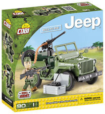 Jeep Willys MB military car COBI 24092 Small Army building block WWII toy brick