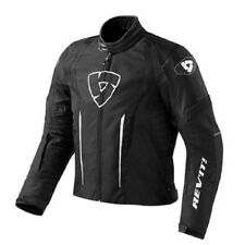 Blouson moto Rev'it Revit Shield noir jacket imperméable amovibles