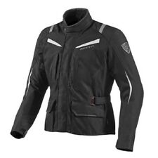 Chaqueta hombre motorrad Rev'it Revit Voltiac gris negro impermeable desmontable
