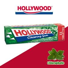 Chewing Gum Hollywood Tablette Chorophylle Menthe Verte