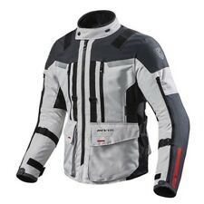 Giacca moto Rev'it Revit Sand 3 silver black adventure turismo impermeabile