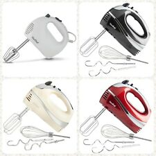 5Speed Electric Hand Mixer Whisk Hand Blender Beater Food Processor Kitchen Mill