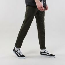 Carhartt WIP Men's Sid Slim Fit Chino Pants Cypress Rinsed Green