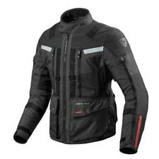 Chaqueta de motociclista Rev'it Revit Arena 3 black negro adventure turismo