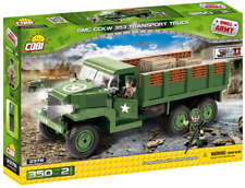NEW! GMC CCKW 353 transport truck COBI 2378 Small Army building blocks WWII toys