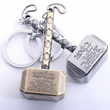 Hammer Metal Silver Keychain Silver Color Best Collectible and Gifting Item