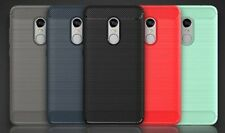 For Xiaomi Redmi Note 4 Back Cover Luxury Hybrid Armor Brushed Finish Soft Case