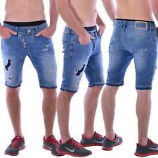 Red Bridge Jeans M 4822 Redbridge Herren Destroyed blau Short Bermudas slim fit