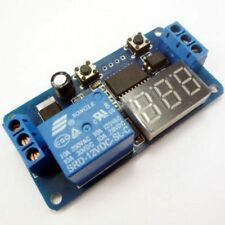 DC Self-lock Relay PLC Cycle 12V Multifunction Timer Module Delay Switch PI