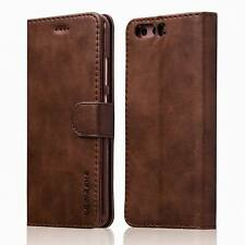 Luxury Ultra Thin Leather Flip Wallet Case Cover For Huawei P9 P10 P10 Plus